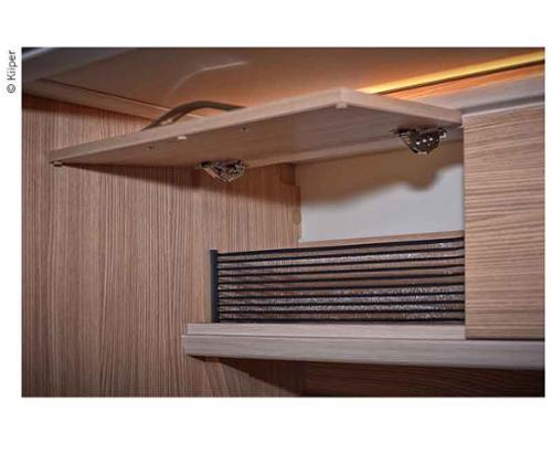 KIIPER-Mini Ablagenetz Set 4, für 400mm Einbaubreite, schwarz liniert