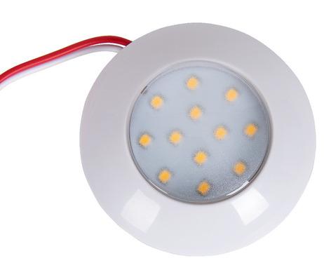 Carbest 12/24V LED Spot, 75x18mm