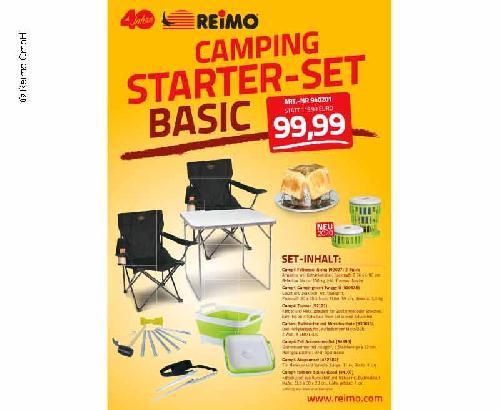"""Camping Starter Set """"Basic"""" für 2 Personen"""