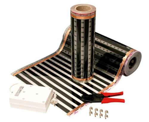 Heizfolie 48 V, 69 cm breit für Wohnmobile und Wohnwagen