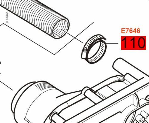 Hose clamp 20 - 32 mm