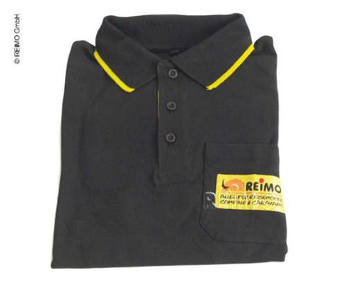 Maglietta Reimo Polo-Shirt nera - REIMO-Polo Donna Nero XS