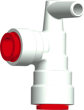 Szögcsatlakozó piros JohnGuest 12mm / Uniquick 12mm-hez