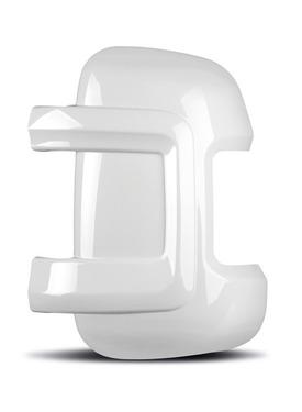 Spiegelbeschermerset Fiat Ducato, korte versie, wit