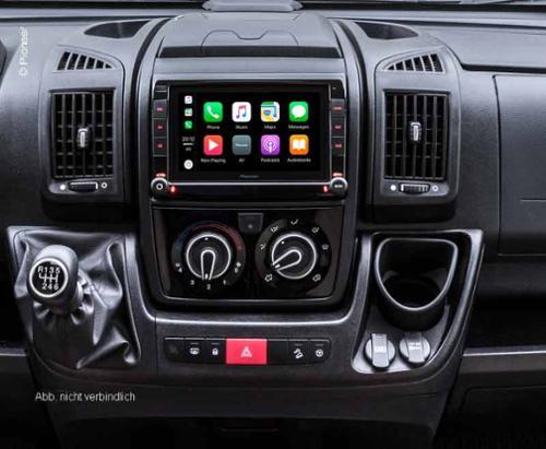 DAB+ Antennensplitter adaptiert Fiat FM Antenne (passiv) für FM und DAB