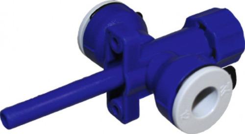 Uni-Quick 12 mm-es leeresztő és leeresztő szelep
