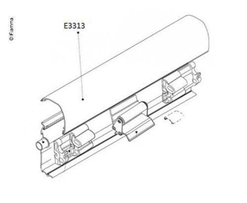 Couvercle de boîtier pour F45TiL