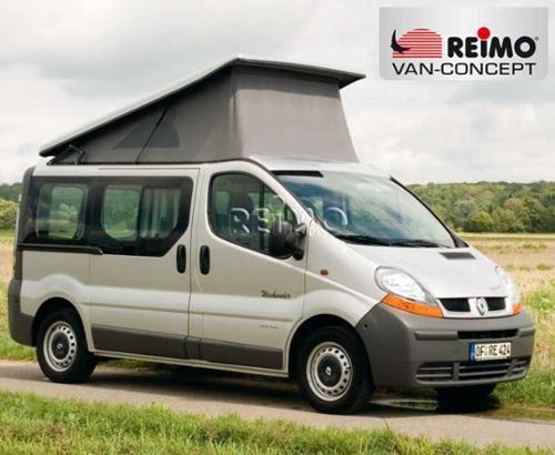Dakbed Ren.Traf/Opel Vivaro sfl., 2-delig, front hoog
