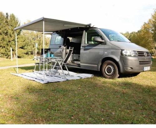 Awning Omnistor 4900 with mounting adapter for Multirail