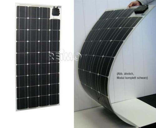 Solarpanel extrem flexibel, 55W, 760x540x2,5mm, schwarz