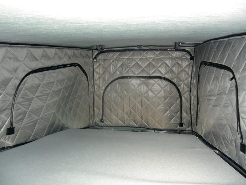 Zeltbalg-Isolation Schlafdach VW T6 Easyfit LR extrahoch, vorn hoch