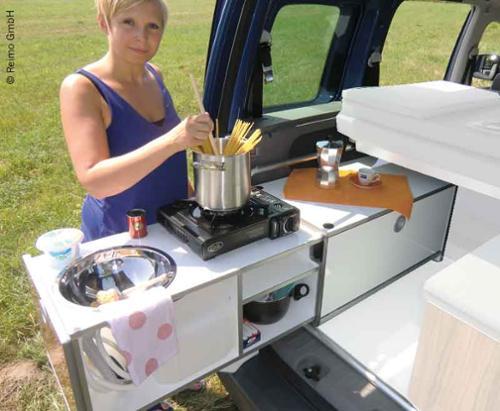 Kitchen box Renault Kangoo B9 KR