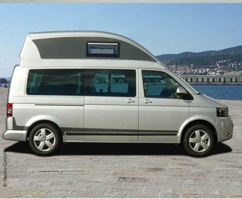 VW T6, VW T5 high top bed Ergoline, LWB