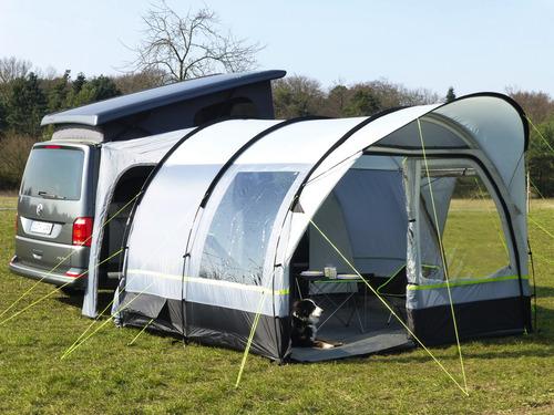 Tour Cap - Una tenda a tunnel per bus o furgone con molto spazio