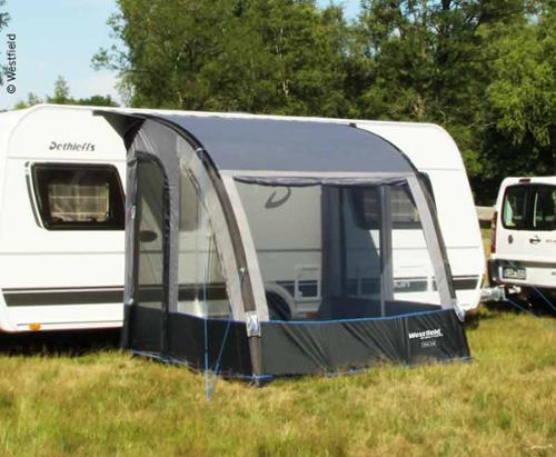 Opblæsbare delvis telt til Caravan Lynx 200