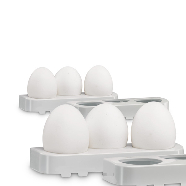 Egg storey, set of 2, for totally 6 eggs