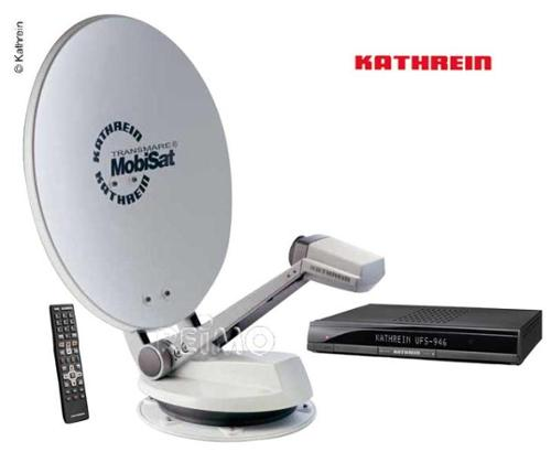 Kathrein satellitsystem MobiSet4 CAP 920 komplet sæt