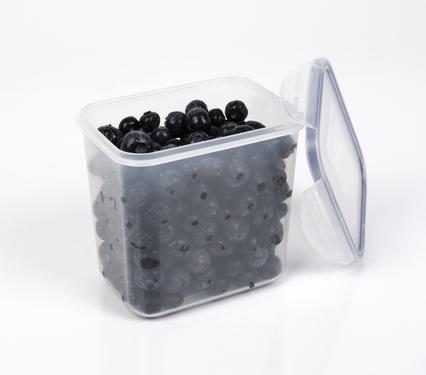 Storage Tin og Food Container 0,85 L, gennemsigtig