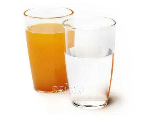 Polycarbonat Gläser Saft 270 ml, 2 Stk.