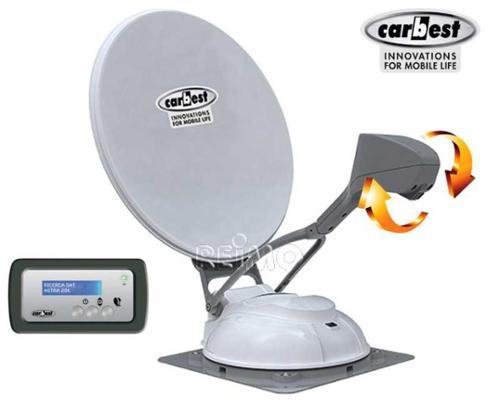 Travelsat 80 HD SKEW, pannello Plus, singolo LNB