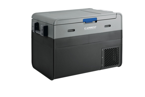 Carbest Kompressor-Kühlbox PowerCooler 45 - 45l, 12/24 Volt + 230V Adapter