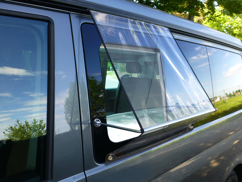 Regenschutz für Schiebefenster