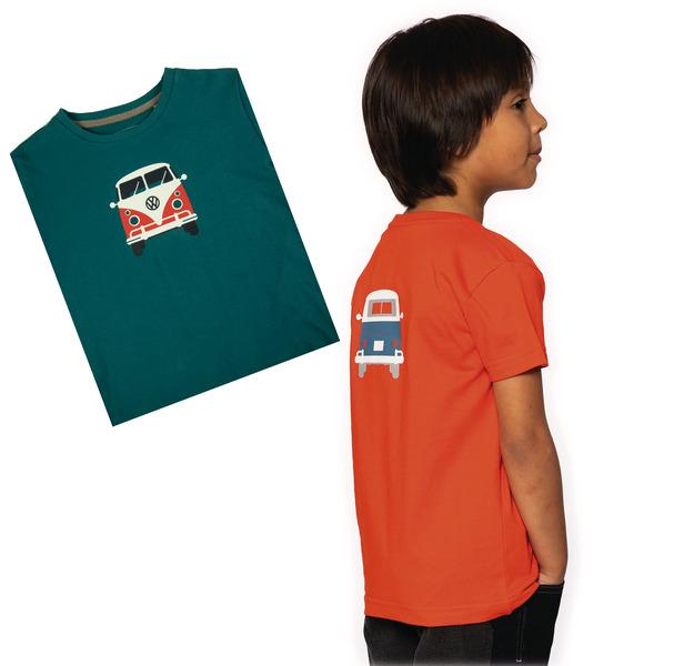 "T-Shirt KIDS ""Bulli Front"" VW, 100% Baumwolle"