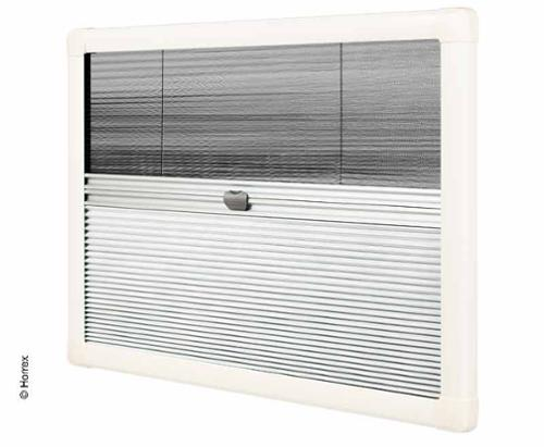 Horrex cassette roller blind with flyscreen and blackout
