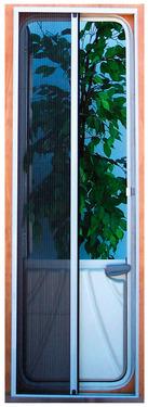 Fliegenschutztür für die Kabinentür, 185 x 65 cm