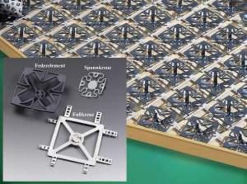 Froli bed system Travel Additional package 12 elements + 12 base crosses
