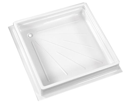 Shower tray 600x600x102 mm, white