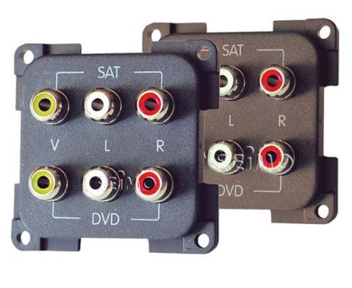 Modulo AV e audio Cinch - Chinch AV+Audiomod.greySB