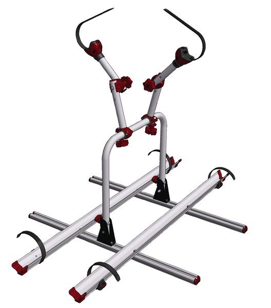 Porte-vélos pour rails de siège Reimo Variotech