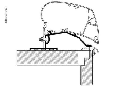 Thule Omnistor Awning Roof Mount Adapter