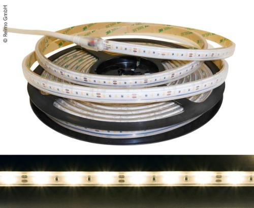 LED-Streifen 12 V, 5m, 2,4W/m, 3000K, 30LEDs/m, IP66