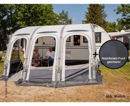 Set luchttent complete caravan complete set Marina Air 490 en muskietennet