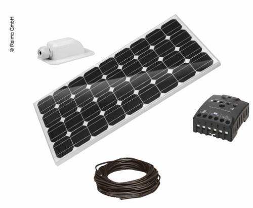 Carbest CB-100 Set solcellesystem komplet med monteringskit, 100W