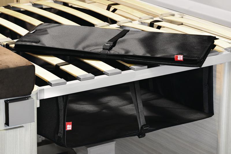 Zoombox 1, Die Staubox unter dem Bett, Höhe: 20-38cm, Breite: 75cm, Tiefe: 110cm