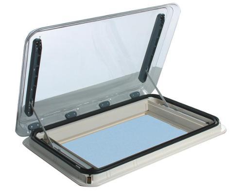 Heki 4 met elektrische hefcrème wit, dakdikte 25-32mm