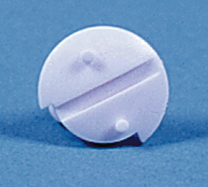 Knebelschraube für Winterabdeckung WA120/130, weiß, 2 Stk.
