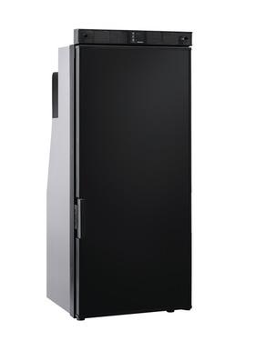 Frigorifero a compressore T1090 nero, maniglia porta inferiore, installazione su