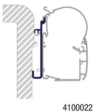 Markise adapter Rapido 7-8-9
