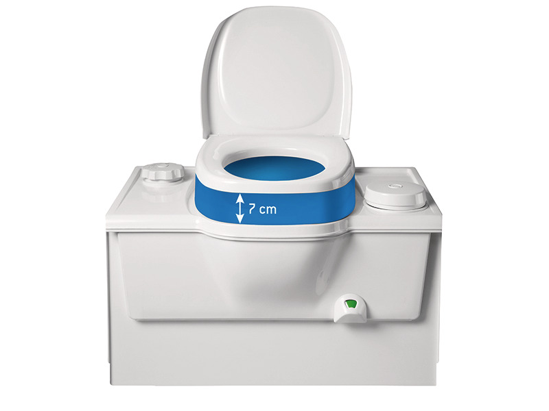 WC seat booster for C2/C3/C4