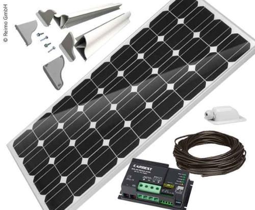 Güneş sistemi motorum 1x100 Watt Carbest CB-100B Seti