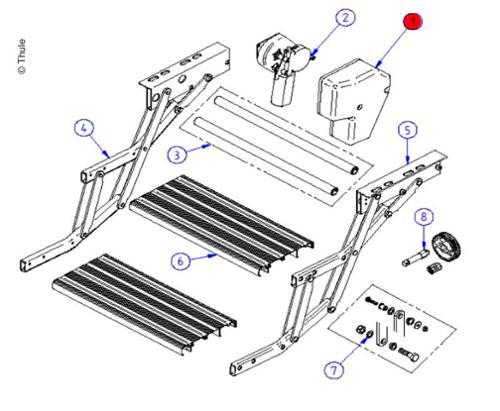 Couvercle du moteur Double Step 12V