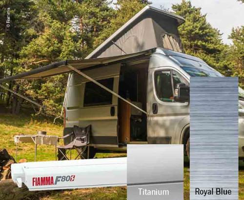 Fiamma F80S tagtelt 4,5m, til varevogne og campister