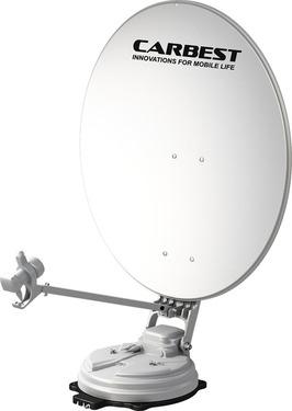 Multi satellit system X85 enkelt 85 cm spejl