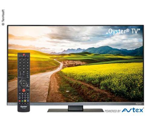 """TV Oyster® TV 32 """"med DVB-T2 / DVB-S2-tuner"""