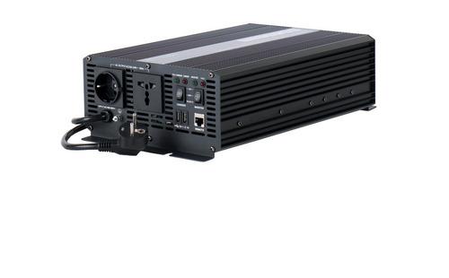 Onduleur sinusoïdal 12/230V 2000W, chargeur intégré 15A