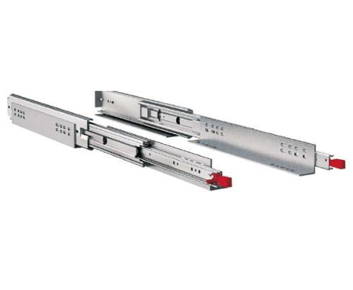 Fuld forlængelse 965 mm til maks. 250 kg, 1 par, stål, galvaniseret